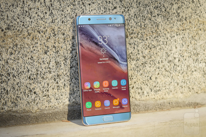 مراجعة الهاتف (Samsung Galaxy Note FE (Fan Edition