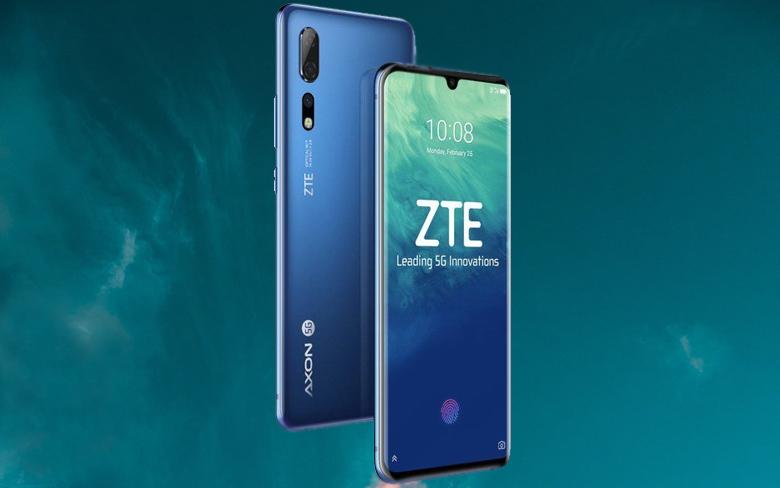الإعلان عن هاتف ZTE Axon 10 Pro 5G