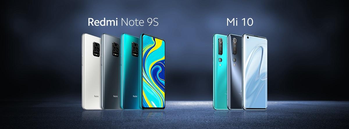 شاومي تعلن عن وصول Xiaomi Mi 10 5g و Redmi Note 9s إلى مصر