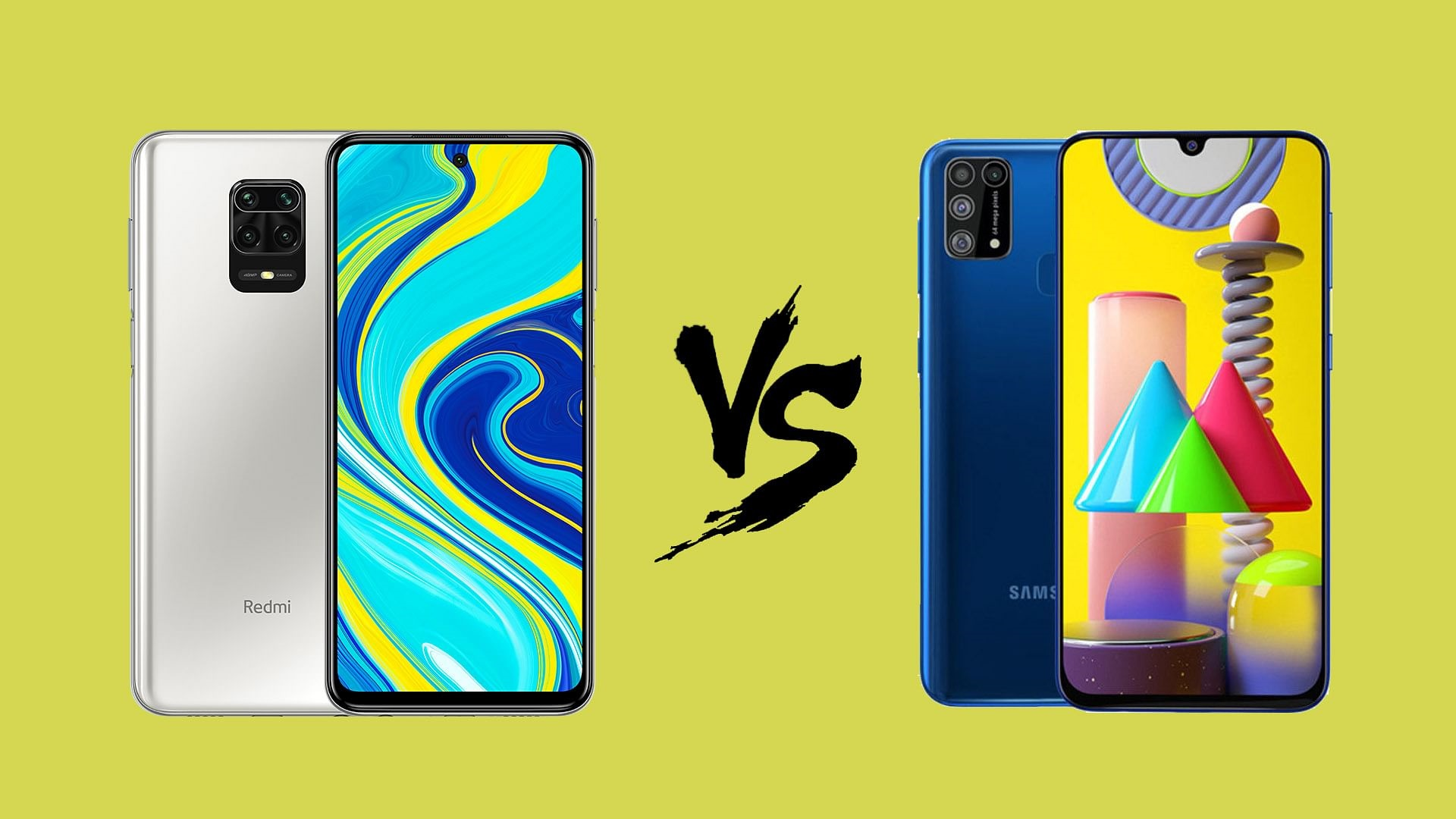 قبيل الشراء من يستحق الاقتناء Samsung M31 أم Redmi Note 9s