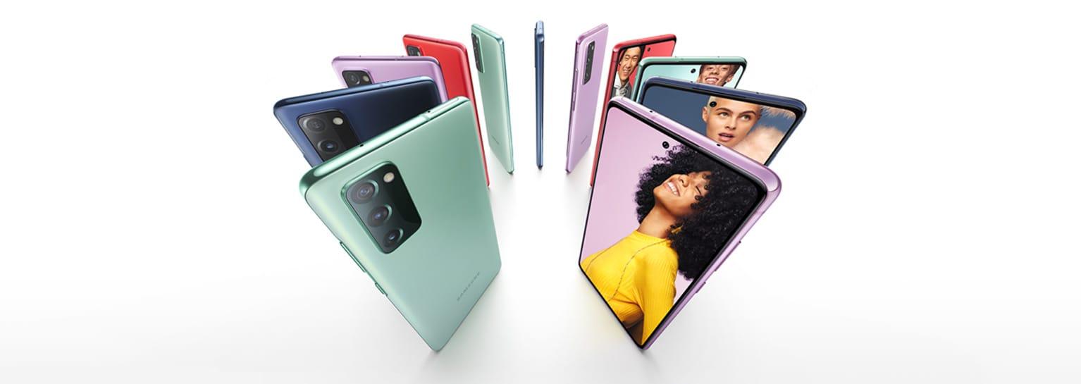 طرح هاتف Samsung Galaxy S20 FE للحجز المُسبق في مصر