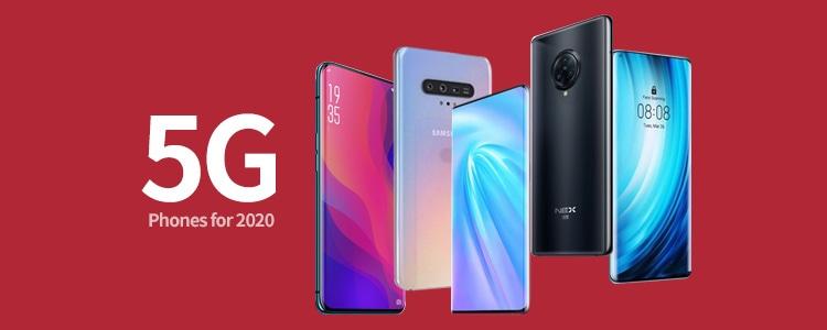 أكثر 10 هواتف مبيعًا في العالم لشهر سبتمبر داعمة للـ 5G