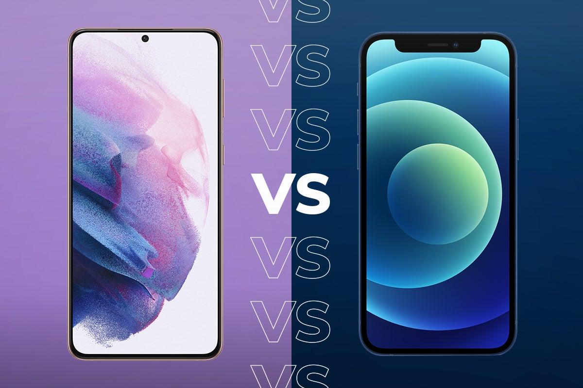أيهما أفضل Samsung S21 أم iPhone 12؟