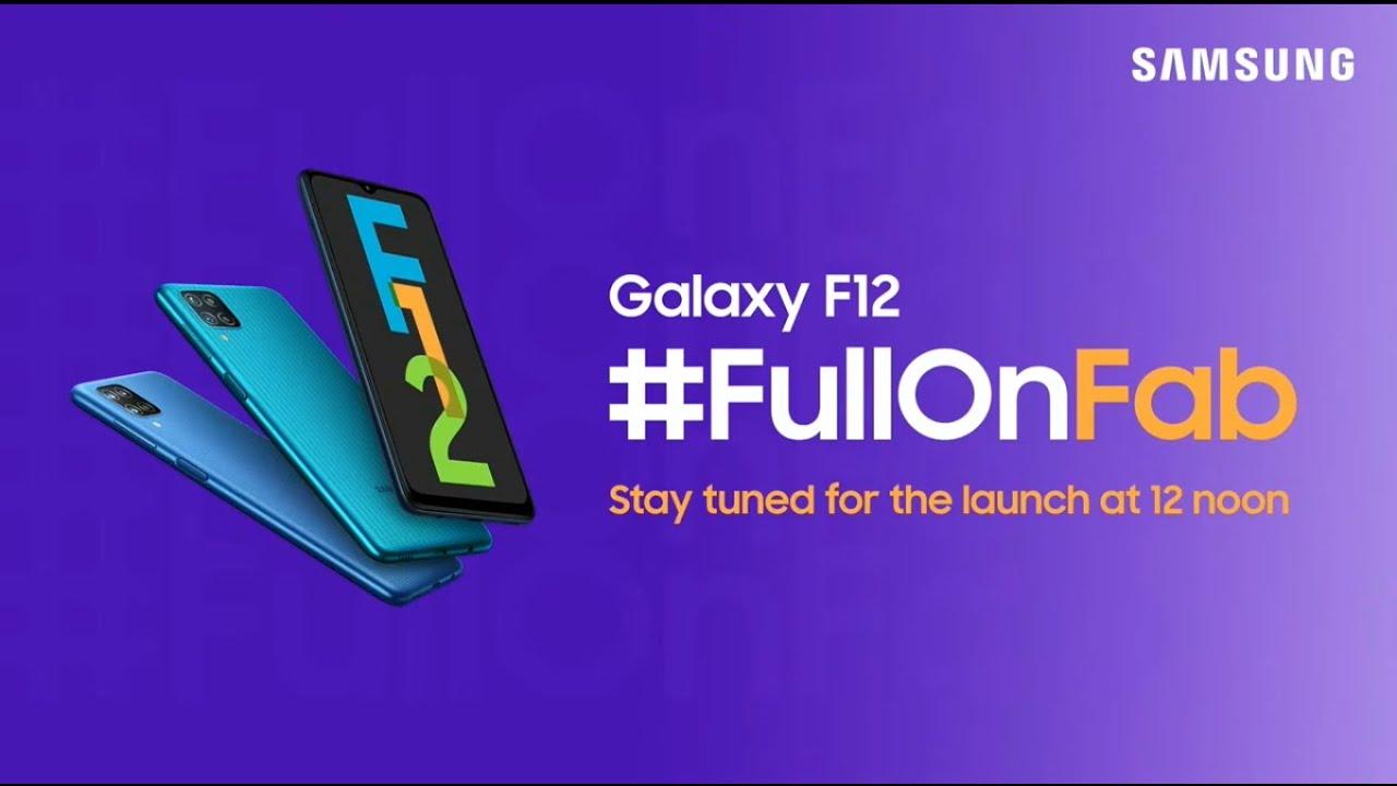 سامسونج تعلن عن هاتف Samsung F12 مع بطارية بسعة 6000 ملي أمبير