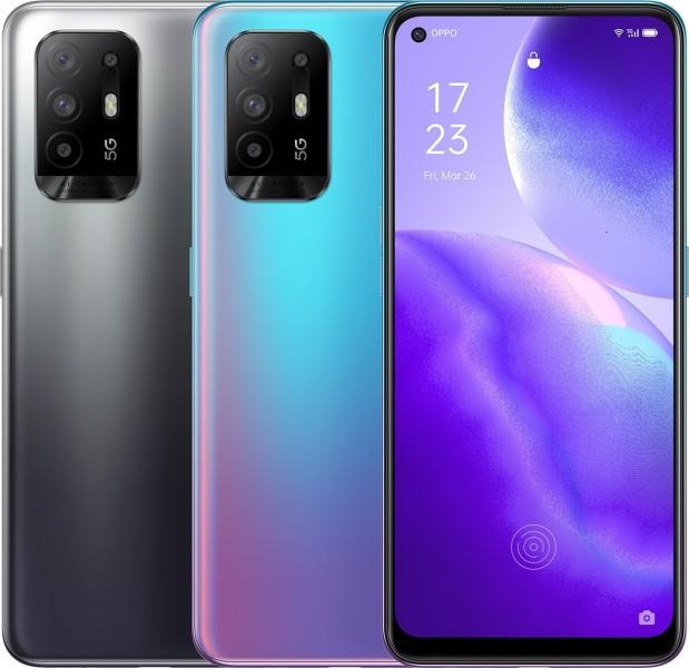 Oppo تعلن رسمياً عن هاتف Reno5 Z 5G برقاقة معالج Dimensity 800U