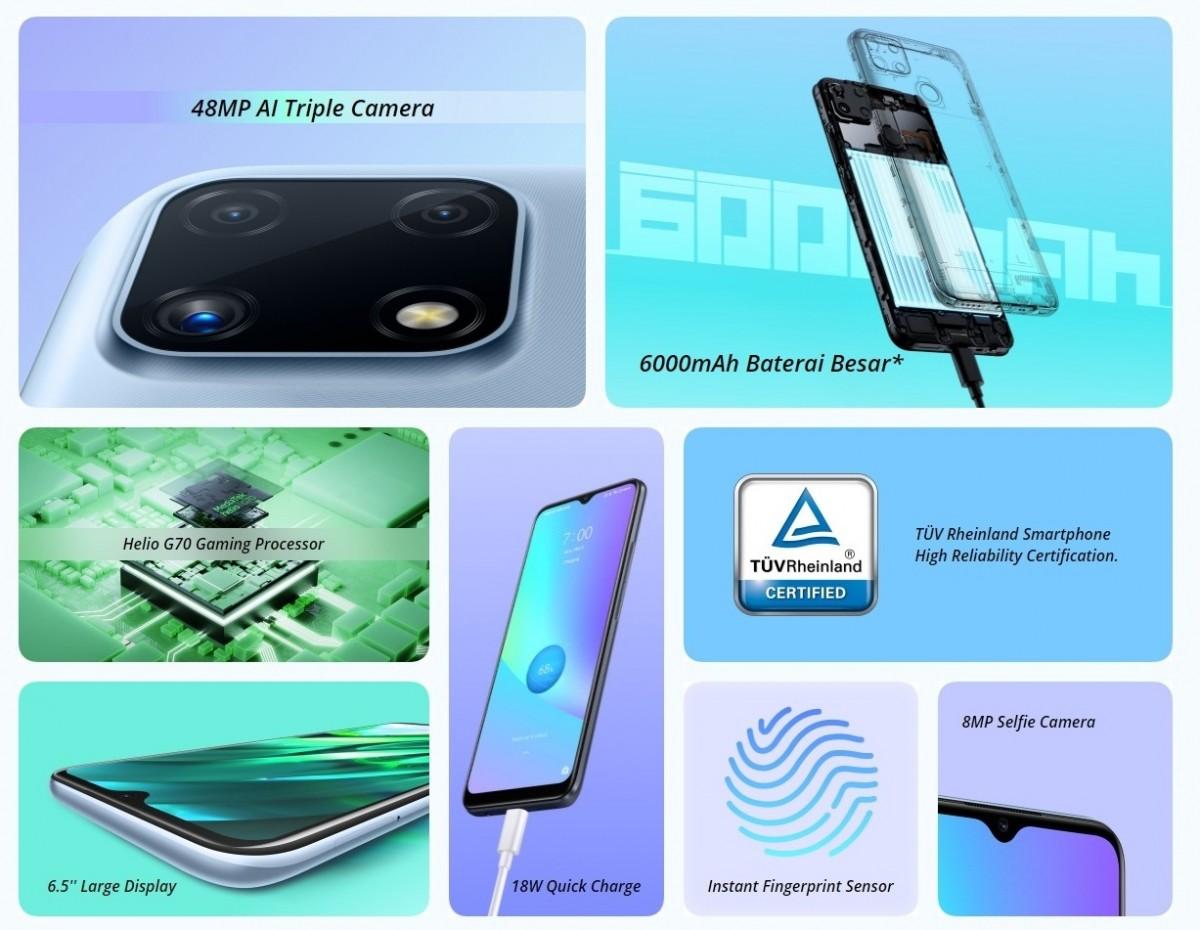 مميزات وعيوب هاتف Realme C25 الجديد