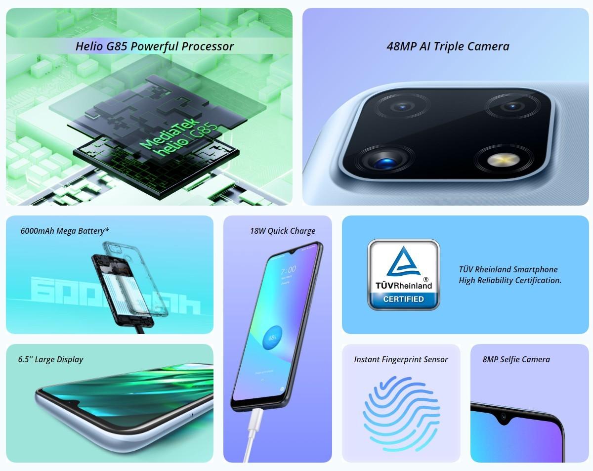الإعلان عن هاتف Realme C25s