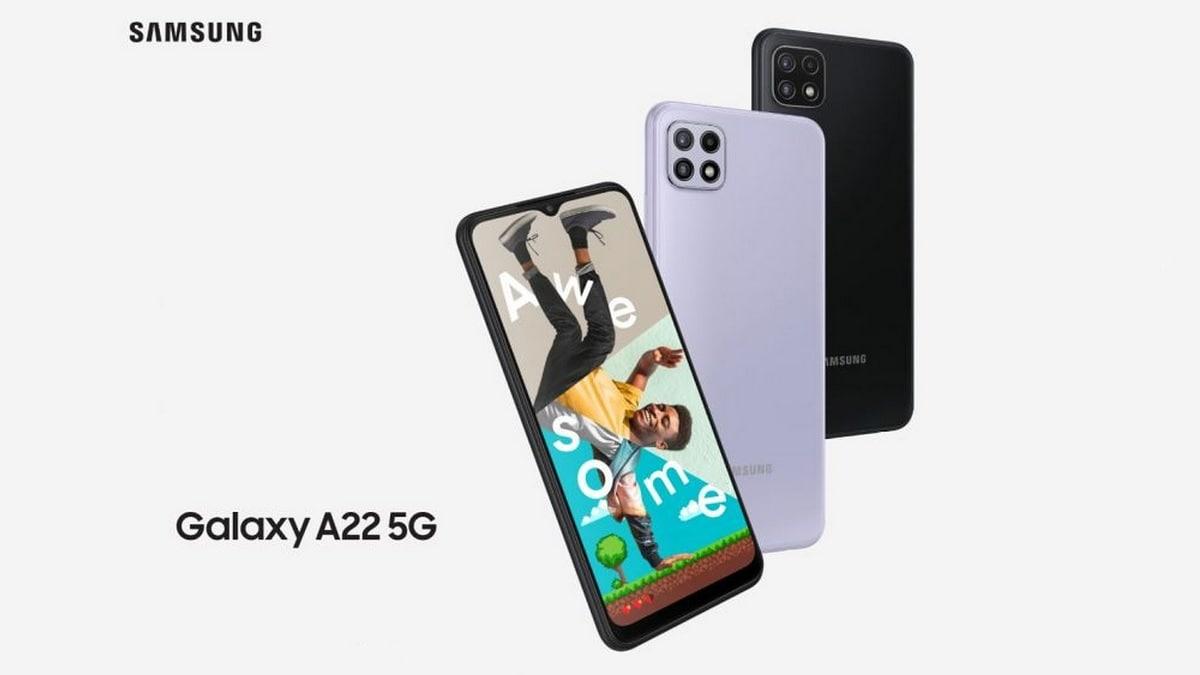 مزايا وعيوب هاتف Samsung Galaxy A22 5G