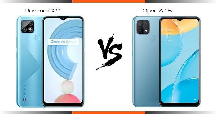 أيهما أفضل Realme C21y أم Oppo A15