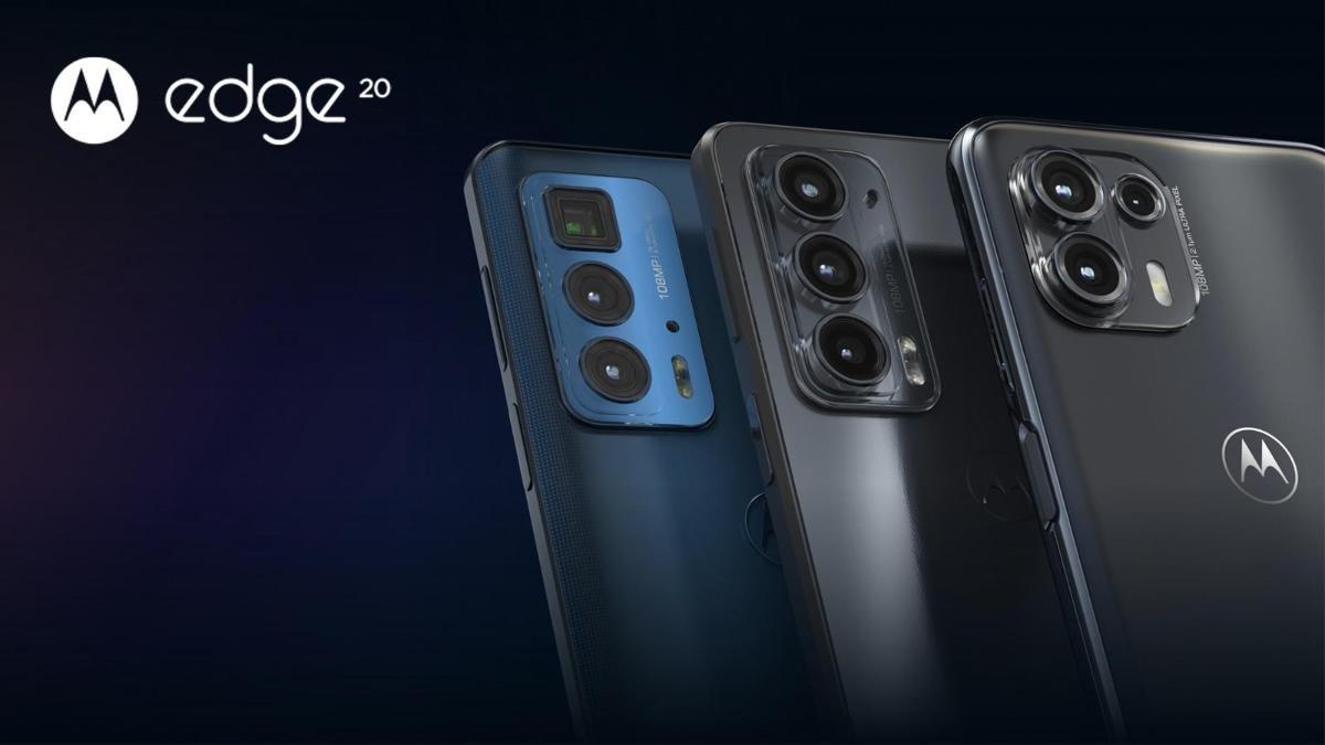 الإعلان عن سلسة Motorola Edge 20