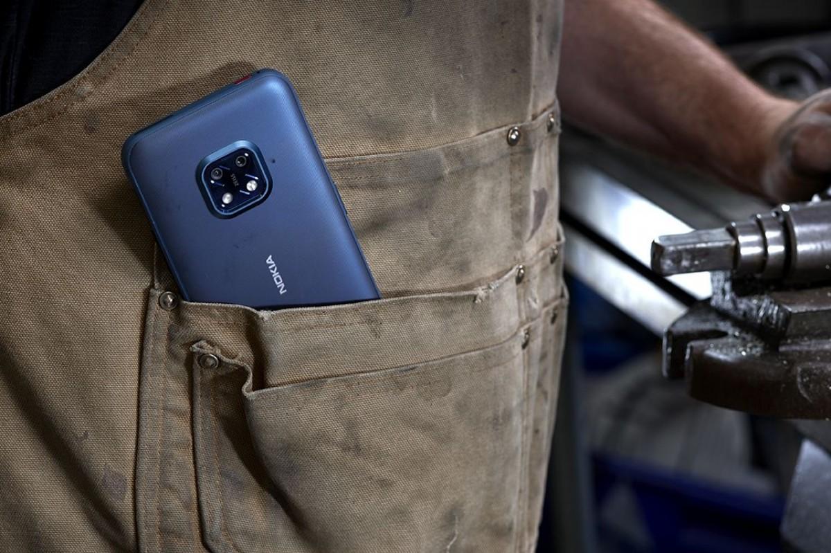 نوكيا تعلن عن مواصفات هاتف Nokia XR20 5G المدرع