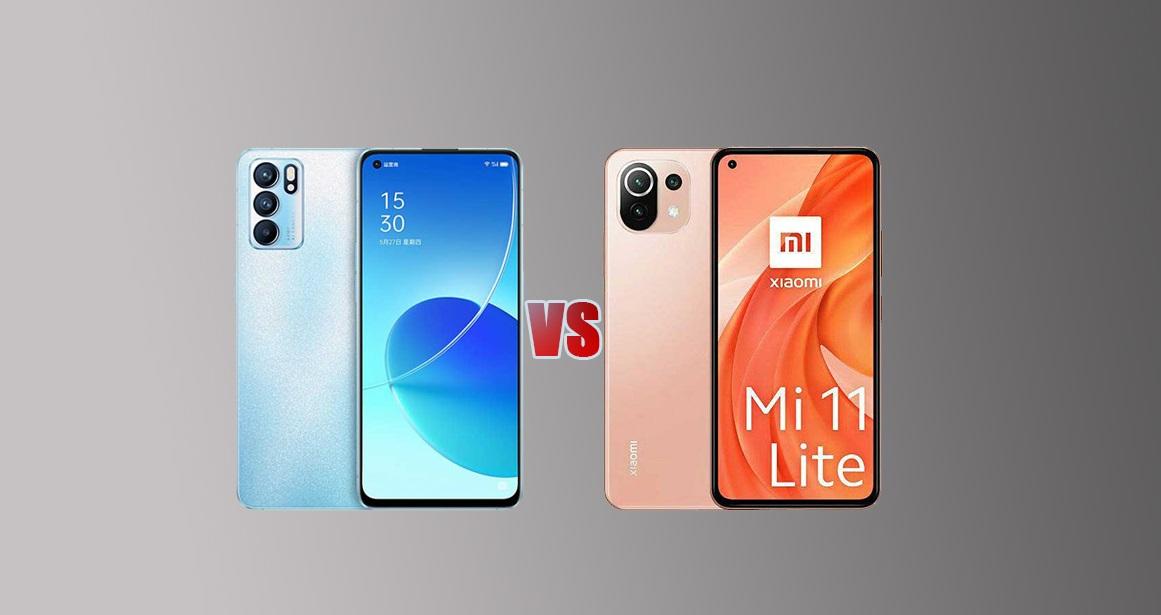 تشتري Oppo Reno6 ولا تشتري Xiaomi Mi 11 Lite