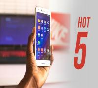 مراجعة هاتف Infinix hot 5