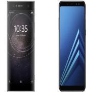 مقارنة بين هاتفي Samsung Galaxy A8 2018 وSony Xperia XA2 Ultra