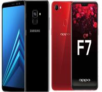 مقارنة بين هاتفي Samsung Galaxy A8 و Oppo F7