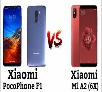 مقارنة بين Xiaomi Pocophone F1 و Xiaomi Mi A2
