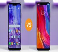 مقارنة بين Huawei nova 3 و Xiaomi Mi 8
