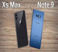 لقاء العمالقة.. مقارنة بين Samsung Galaxy Note9 و iPhone XS Max
