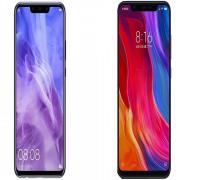 مقارنة هاتفي Huawei nova 3 و Xiaomi Mi 8 الأكثر جدلًا