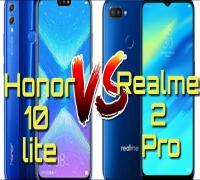 مقارنة بين هاتفي Honor 10 Lite و هاتف RealMe 2 Pro