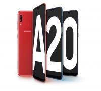 مراجعة مواصفات هاتف Samsung A20 للفئة المتوسطة