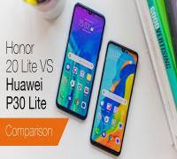 مقارنة هاتفي Huawei P30 Lite و Honor 20 Lite