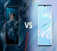 مقارنة بين Honor 20 Pro و Huawei P30 Pro