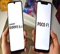 مقارنة بين Xiaomi Pocophone F1 و Samsung Galaxy A50