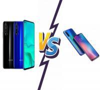 مقارنة بين Honor 20 و Xiaomi Mi 9