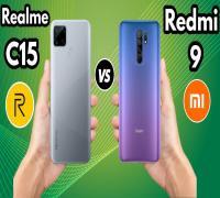 أيهما أفضل Realme C15 أم Redmi 9