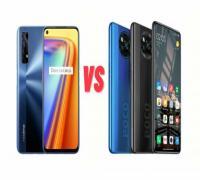مقارنة Poco X3 NFC مع Realme 7