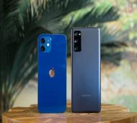 المقارنة الكاملة بين كاميرات هاتفي iPhone 12 وSamsung Galaxy S20 FE