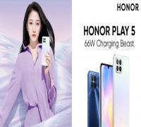 الكشف رسميًا عن هاتف Honor الجديد Honor Play5 5G
