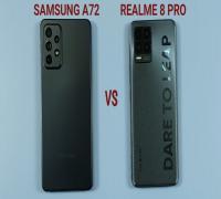 تشتري Samsung A72 ولا Realme 8 Pro
