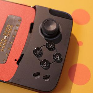 تصميم أداة الألعاب Moto gamepad