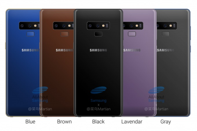 تسريب الصور الرسمية لهاتف Samsung Galaxy Note