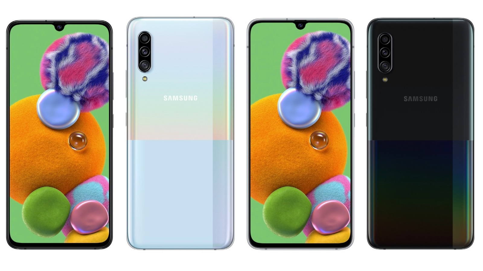 الكشف عن أحدث هواتف Samsung المنتمية للفئة الرائدة منخفضة الثمن Samsung Galaxy A90 5G