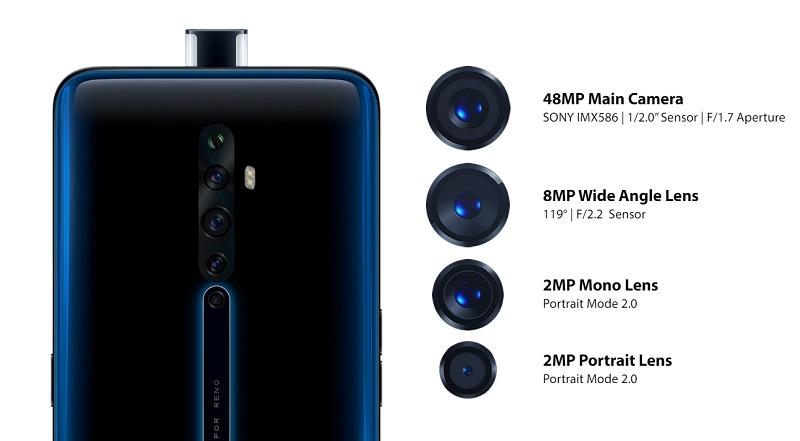 المراجعة الكاملة لهاتف Oppo الجديد ذو الكاميرا المنبثقة من الأمام Oppo Reno 2Z