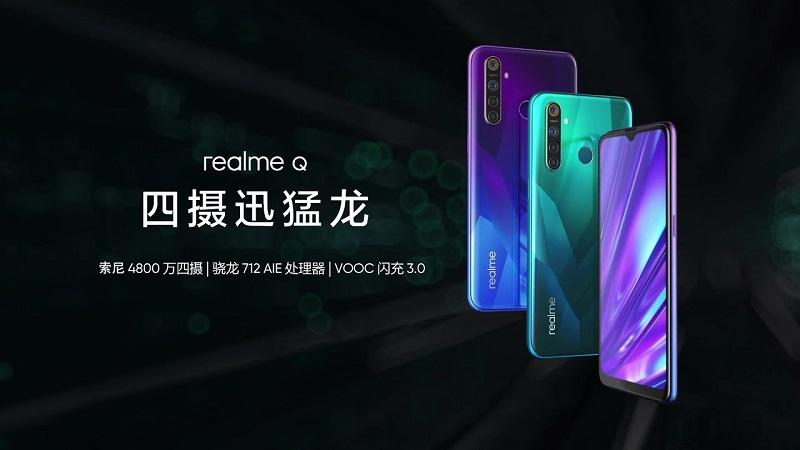 شركة Realme تكشف رسميًا عن الهاتف الجديد Realme Q بمفاجأة قد لا تكون سعيدة