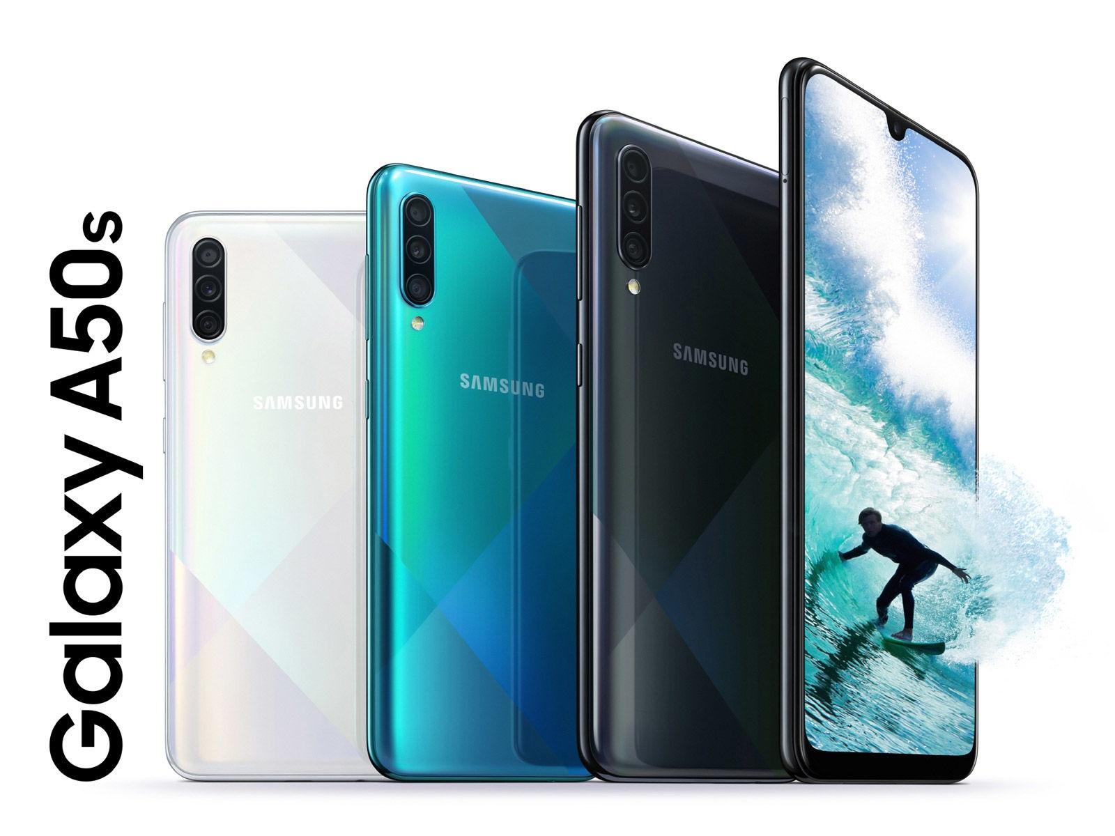مواصفات هاتفي Samsung Galaxy A30s وGalaxy A50s أحدث هواتف Samsung متوسطة الفئة