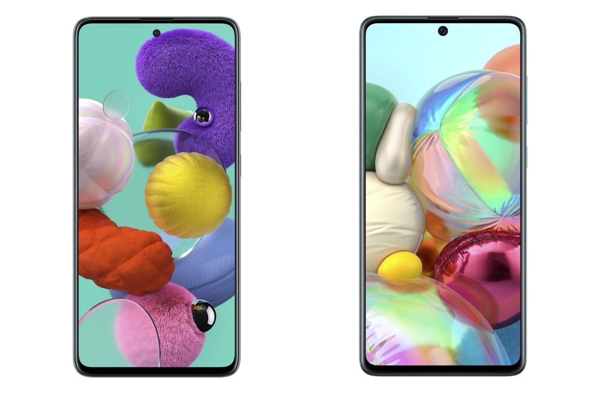 سامسونج تكشف رسميًا عن هاتفي Samsung Galaxy A51 وGalaxy A71 الجديدين