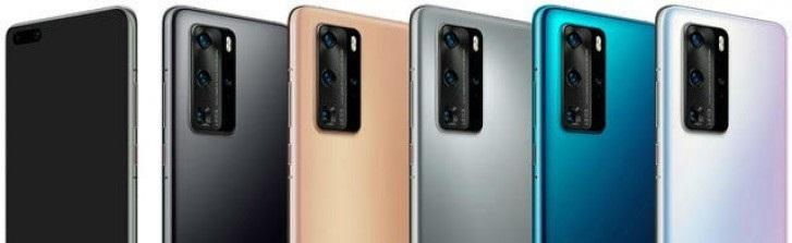 الكشف عن تصميم هواتف هواوي الرائدة المقبلة Huawei P40 من خلال صور مسربة جديدة