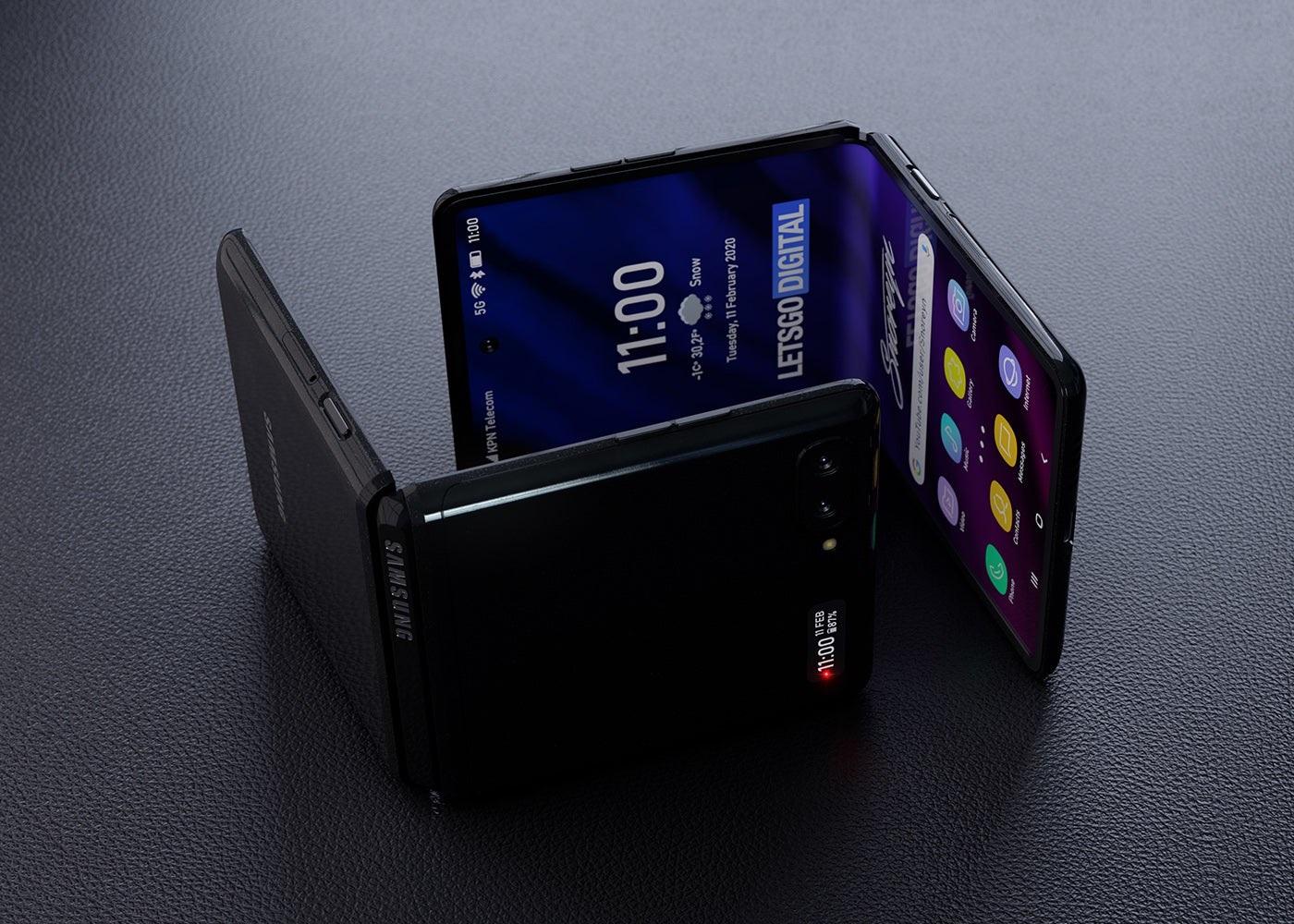 أحدث تسريبات هاتف سامسونج القابل للطي المقبل Samsung Galaxy Z Flip