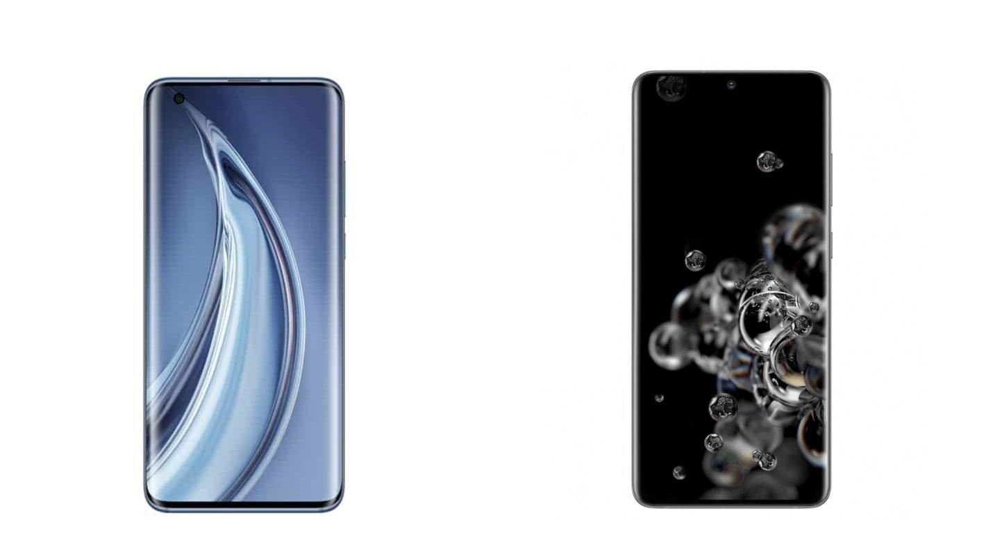 المقارنة الكاملة بين هاتفي الفئة الرائدة Xiaomi Mi 10 Pro وSamsung Galaxy S20 Plus