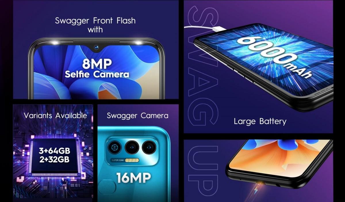 تكنو تعلن عن هاتف Tecno Spark 7 ببطارية 6000 مللي