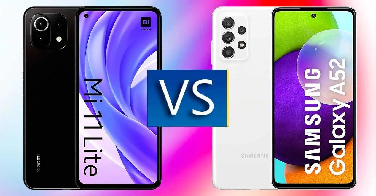 لو معاك 5000 جنيه تشتري Samsung Galaxy A52 ولا Xiaomi Mi 11 Lite