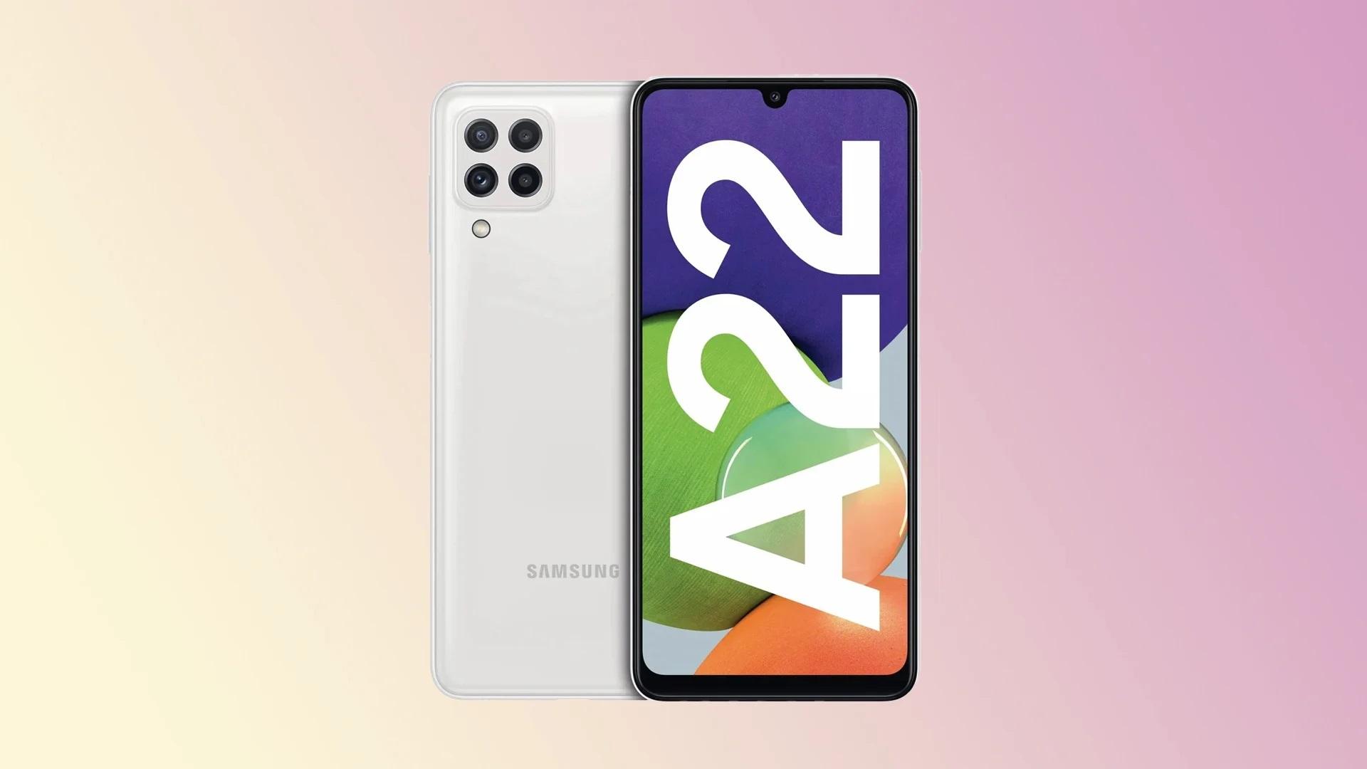 سامسونج تكشف رسميًا عن مواصفات هاتفي Samsung Galaxy A22