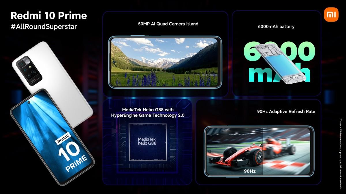 تعرف على الهاتف الجديد Redmi 10 Prime